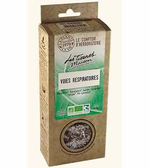 Tisane Voies Respiratoires Bio – COMPTOIR D'HERBORISTERIE