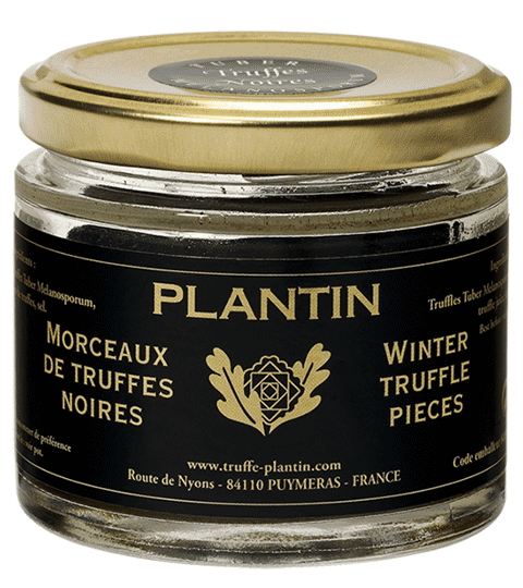 Truffes Noires Morceaux TUBER MELANOSPORUM 2ème Cuisson – PLANTIN