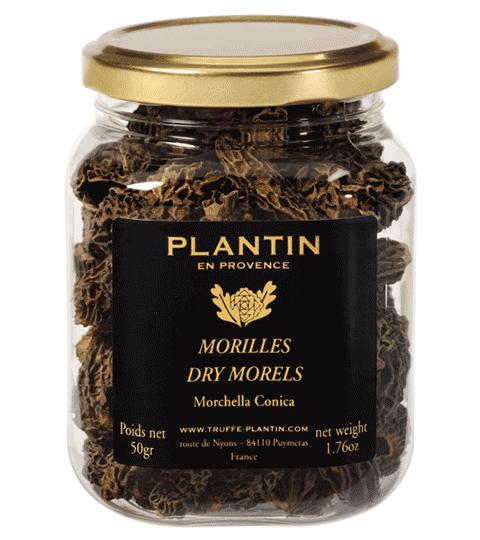 MORILLES SPECIALES SECHEES (100% Tête) MORCHELLA CONICA – PLANTIN