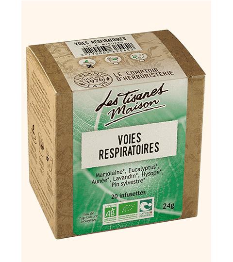 Tisane Infusette Voies Respiratoires – LE COMPTOIR D'HERBORISTERIE