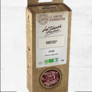 Infusion Hibiscus - COMPTOIR D'HERBORISTERIE